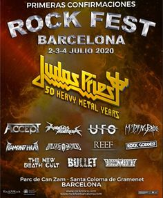 Rock Fest Barcelona - - July, 2020 at Barcelona, Spain