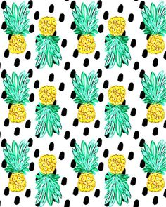 Pineapple and Dots.
