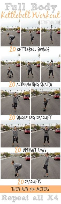 Full body kettlebell workout | Posted By: NewHowToLoseBellyFat.com