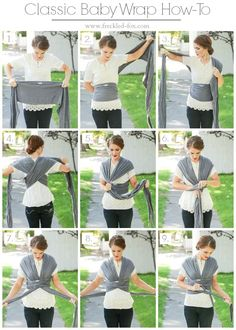 Baby wrap how to