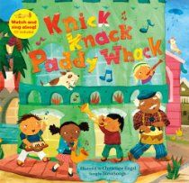 Knick Knack Paddy Whack Book & CD (A Barefoot Singalong) Price: £6.99 #kidlit #music #giftidea