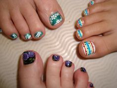 cute toenail designs for summer   ... amazing pedicures and got to choose our nail design from a huge book