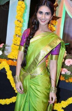 Vaani Kapoor  in Saree #VaaniKapoor #FoundPix #BollywoodActress