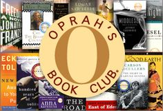 Oprah's Book Club /Don't forget to print your list of official Oprah's Book Club selections and mark the ones you've completed. Read more: http://www.oprah.com/book-list/Oprahs-Book-Club-The-Complete-List/3#ixzz2Fr6IS1SO