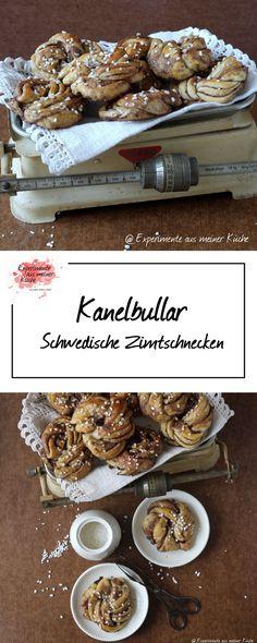 Kanelbullar - Schwedische Zimtschnecken   Backen   Hefeteig   Rezept