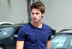Patrick Schwarzenegger, the next generation of Kennedys, has his own line of socially conscious clothing.....at 18 years old.