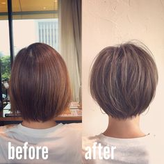 Bob Hairstyles For Fine Hair, Cool Hairstyles, Hair Dos, My Hair, Hair Inspo, Hair Inspiration, Short Hair Cuts, Short Hair Styles, Girls Short Haircuts