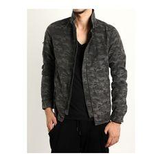 カモフラージュジャガード シャツブルゾン | シェラック(SHELLAC) | ファッション通販 マルイウェブチャネル