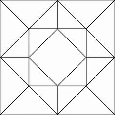 Billedresultat for quilt square patterns Quilt Square Patterns, Barn Quilt Patterns, Pattern Blocks, Square Quilt, Patchwork Patterns, Stained Glass Patterns Free, Stained Glass Quilt, Patchwork Quilting, Scrappy Quilts