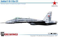 Опытные образцы Су-27 сухого