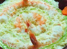 Capellini à Giorgia com camarão