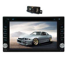 Car DVD Player Logo MP3 Music Radio GPS Stereo System SD In Dash Map PC CAM Autoradio Auto Head Unit 2 din Movie