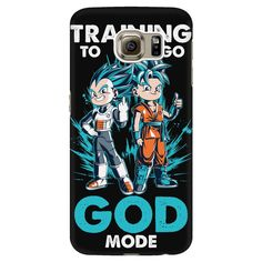 Super Saiyan Goku and Vegeta God Blue Android Phone Case - TL00011AD-BLACK