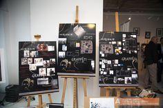 Wystawa prac słuchaczy Akademii Wnętrz Ewy Romanow-Głowackiej we wrocławskim Sky Tower. Cermag jest Partnerem Tytularnym Akademii.