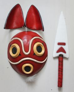 Mononoke mask by Toki-MMMC.deviantart.com on @DeviantArt