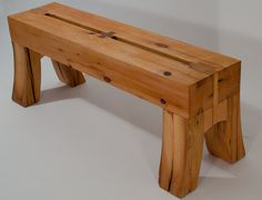 Timber frame bench