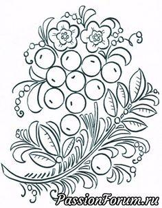Раскраска РУССКИЕ НАРОДНЫЕ ПРОМЫСЛЫ - запись пользователя veda (Елена Бельская) в сообществе Картинки для творчества в категории Фоны, рамки, трафареты