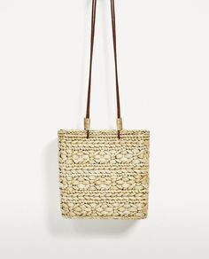 Image 4 of BRAIDED TOTE from Zara