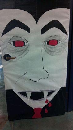 My classroom door Holloween Door Ideas, Halloween Door, Classroom Door, Classroom Ideas, Door Decorating, School Bulletin Boards, 4 Kids, Decorations, Display