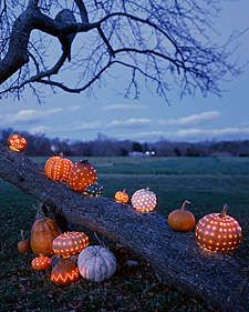 The Celestial Pumpkin Carving is an Adorable Addition to Any Porch trendhunter.com