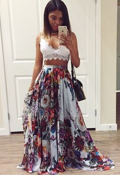 I could wear this skirt everyday! Cute Casual Outfits, Chic Outfits, Dress Outfits, Summer Outfits, Fashion Outfits, Womens Fashion, Look Boho, Look Chic, Inspiration Mode