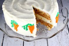 Carrot Cake Cheesecake Cake | Recipe Girl