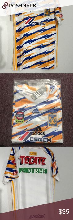 ed5a03ddf60 New 2019 Tigres UANL soccer Jersey Liga MX Size M New 2019 Tigres UANL soccer  Jersey