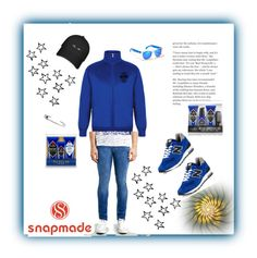 """""""snapmade 15"""" by fatimazbanic ❤ liked on Polyvore featuring Topman, New Balance, Jack Black, Hollister Co., men's fashion and menswear"""