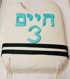 Tzitzis Cake for upsherin
