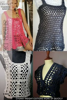 Crochet inspiring patterns, lacy and flattering -   DiaryofaCreativeFanatic