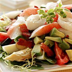 Alaska Surimi Seafood Composed Salad