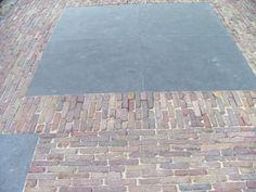 Gezaagde waaltjes - Oud gebakken - Bestrating.nl