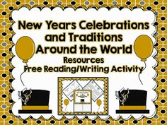 LMN Tree: New Year's Traditions Around the World Resources, Free Activity, and Interactive Student Notebook Connection