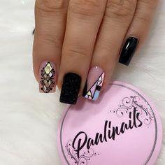 Semi Permanente, Fire Nails, Nail Spa, Pedicure, Nail Art Designs, Acrylic Nails, Hair Beauty, Dots, Rock Roll
