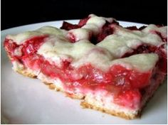 Rhubarb Delight. Haven't had rhubarb in forever! Must try this one!