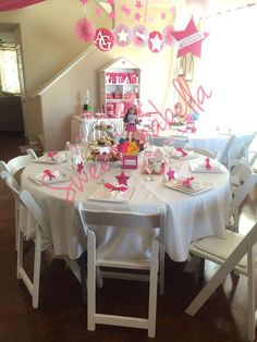 """Leilani's """"American Girl"""" Cafe Inspired Birthday Party    CatchMyParty.com"""