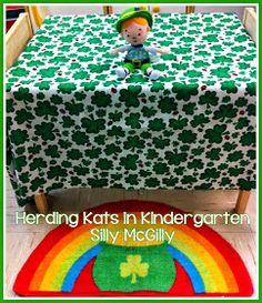 Herding Kats in Kindergarten: Leprechaun Fun & a Freebie!