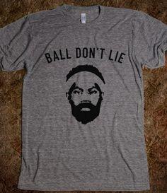 Rasheed Wallace, Ball Don't Lie Shirt, Knicks, NYK, Knicks Tape