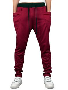 9b7a938004f3 Solid Color Pockets Daywear Jogger Pants