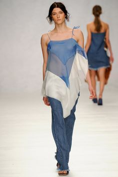 Marques'Almeida | Spring 2014 Ready-to-Wear Collection | Style.com