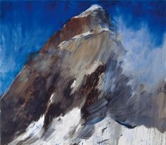 blastedheath: Herbert Brandl (Austrian, Untitled, Oil on canvas, 350 x 400 cm. Oil On Canvas, Artsy, Waves, Mountains, Abstract, Artwork, Outdoor, Inspiration, Austria