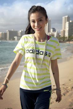 Angelababy:Adidas Japanese Beauty, Asian Beauty, Beautiful Asian Women, Beautiful People, Place Of Birth, Angelababy, Asian Celebrities, Foto Pose, Chinese Model
