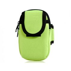 Sports Green Pouch Armband for iPhone