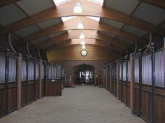 stallion barn at Joop van Uyters