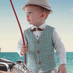 Toddler Vest, Toddler Boys, Little Boy Fashion, Kids Fashion, Waist Coat, Boy Baptism, Kids Wear, Little Boys, My Outfit