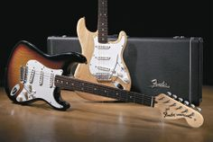 Fender Bender Classic elements of the Stratocaster design are as iconic today as they were in the early days, as shown by this pair of 2005 '70s Stratocasters. Fender Musical Instruments Corporation