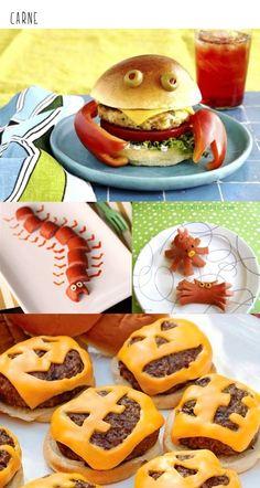 Ideas para presentar la comida a los niños de forma divertida.