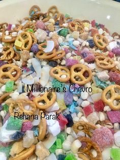 Millionaire's Chevro recipe by Rehana Parak posted on 21 Feb 2019 . Recipe has a rating of by 1 members and the recipe belongs in the Snacks, Sweets recipes category Kid Snacks, Turkish Delight, Roasted Almonds, Food Categories, Cheesy Chicken, Toasted Coconut, Sweets Recipes, Chocolates, Candy