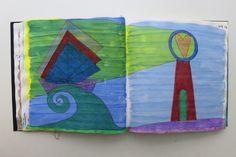 LAURA GUILLÉN 11-7-15 diario naturaleza mar artista arte sketchbook art nature sea artist
