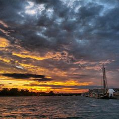 Post storm sunset captured by Jason Kopp, June 13, 2014, DC region.